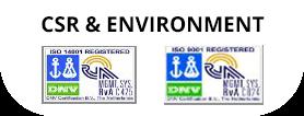 CSR & ENVIRONMENT